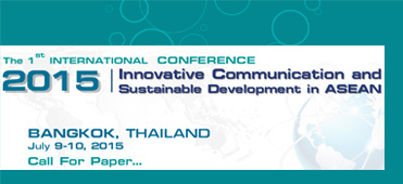 International Conference on Innovative Communication and Sustainable Development in ASEAN